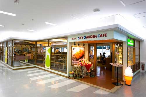 鹿児島空港で喫煙可の飲食店3F