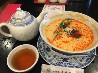 中華料理美華園の白ごま担々麺