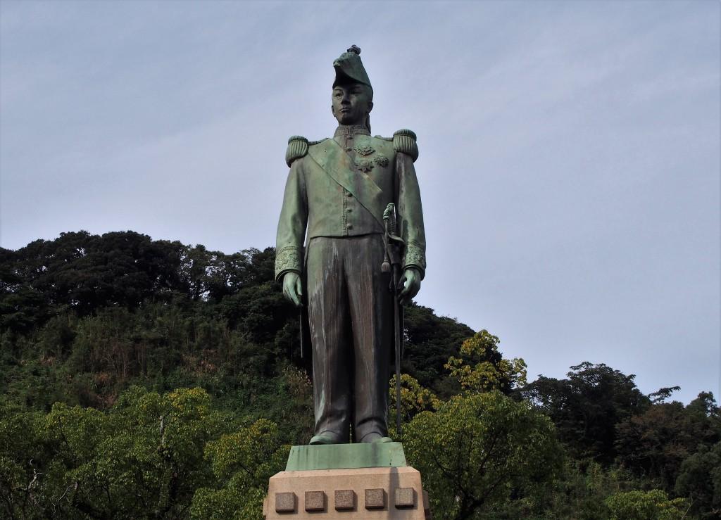 島津忠義像