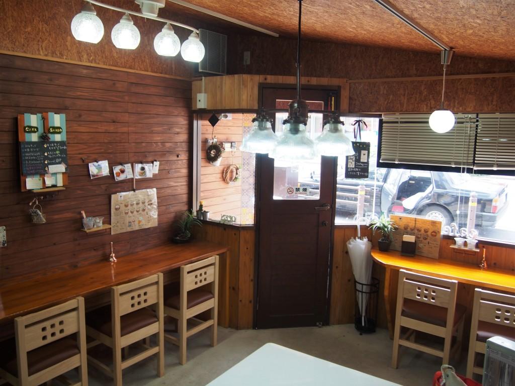 inside of cafe ozunu