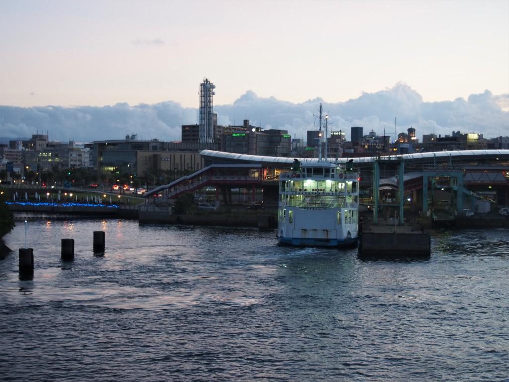 桜島納涼観光船