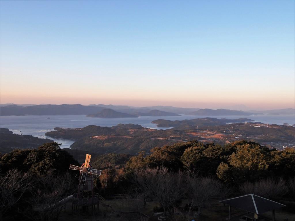 長島八景行人岳
