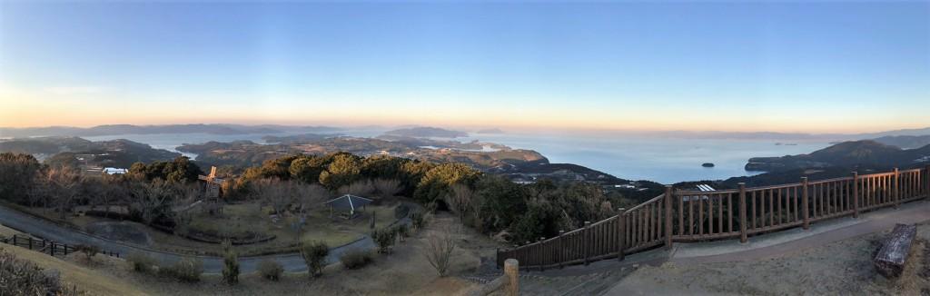 長島八景・行人岳