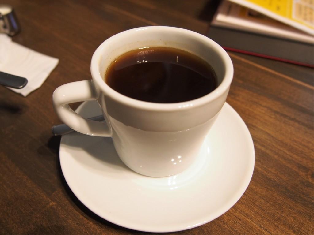 ムッフカフェのコーヒー