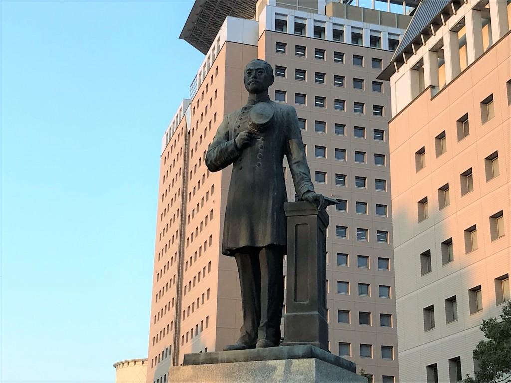 川路利良の銅像