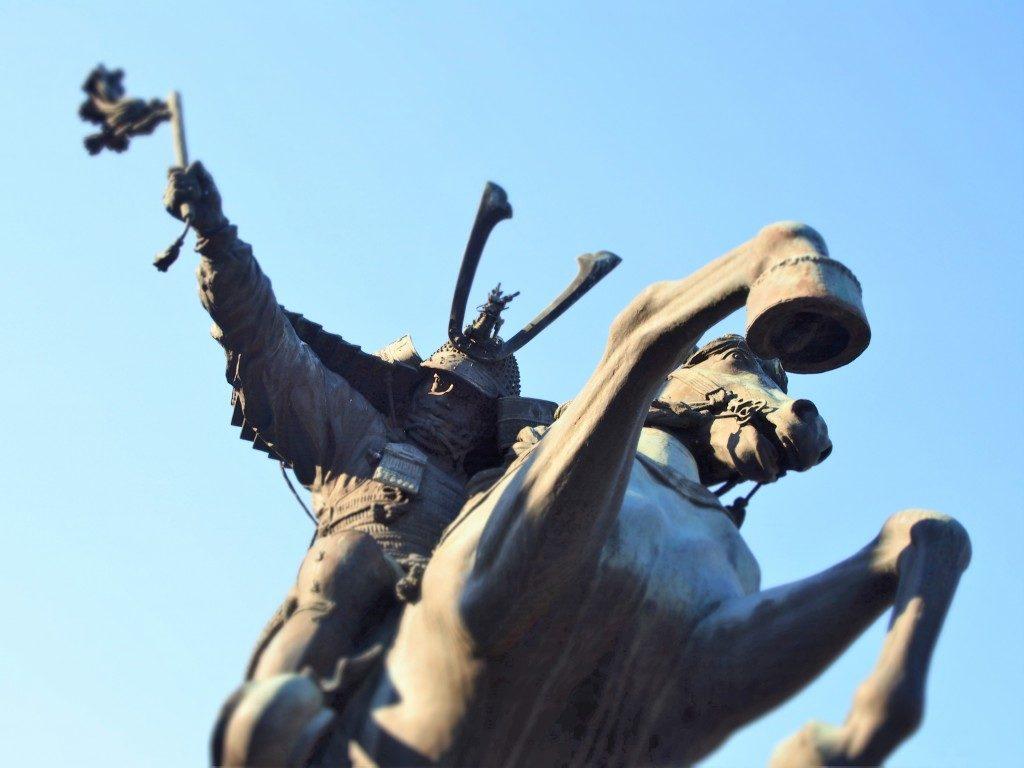 島津義弘像