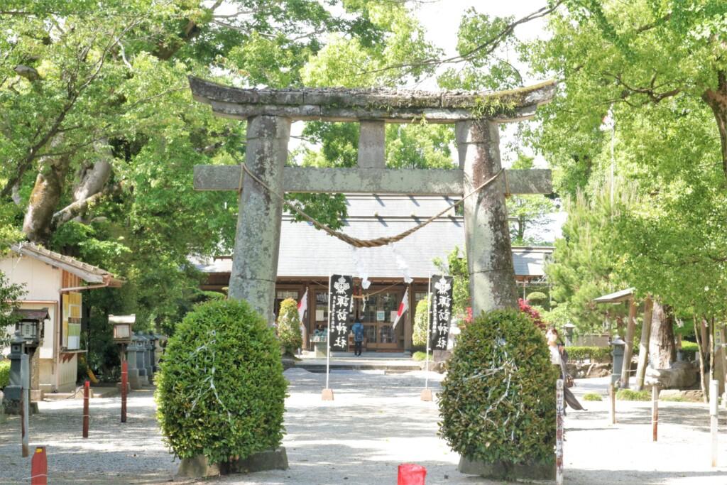 出水市の諏訪神社
