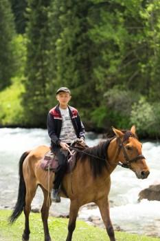 馬に乗ってると500%増しです。