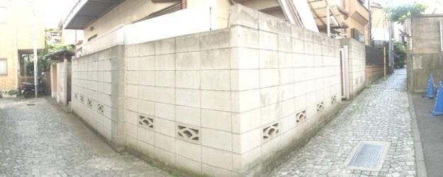 石畳 クランク坂上3