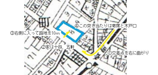 通り寺町昭和5年2