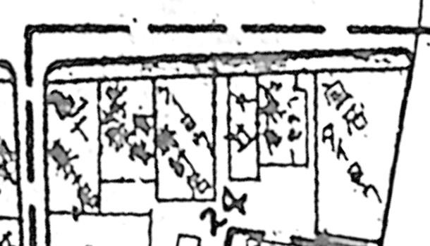 1970年の極西部の神楽坂5丁目