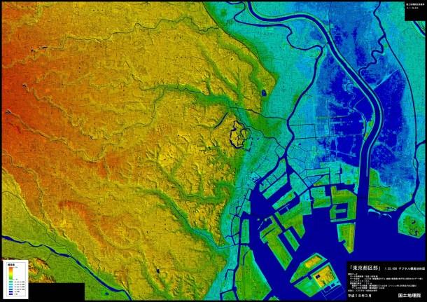 125,000デジタル標高地形図
