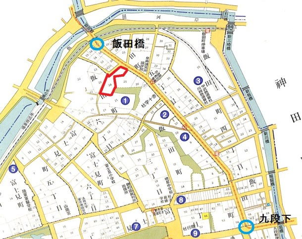 飯田橋と市電