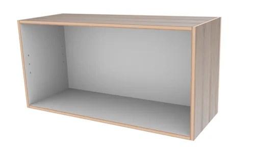 扉の付いた簡単な箱組み立て後