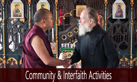 Interfaith and Community Activities