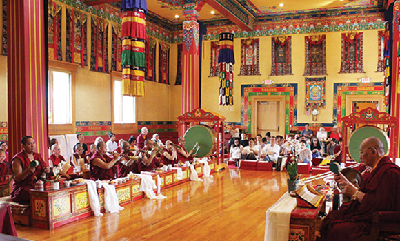 Guru Rinpoche tsok KTD
