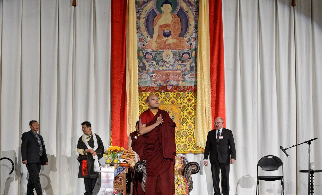 Karmapa in San Francisco: Talk to Tibetan Association