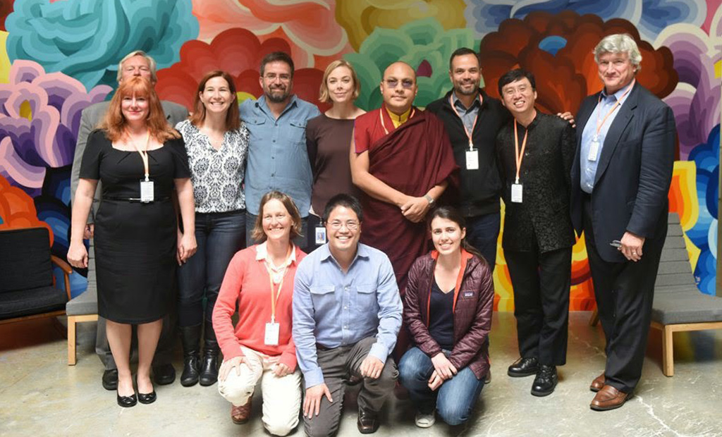 Visiting Facebook, Karmapa Urges a Kinder Internet Culture
