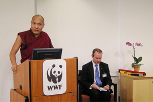 Gyalwang Karmapa Visits WWF Headquarters