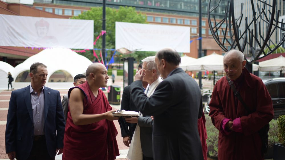Exploring the World of Precious Texts: The Karmapa Visits the British Library