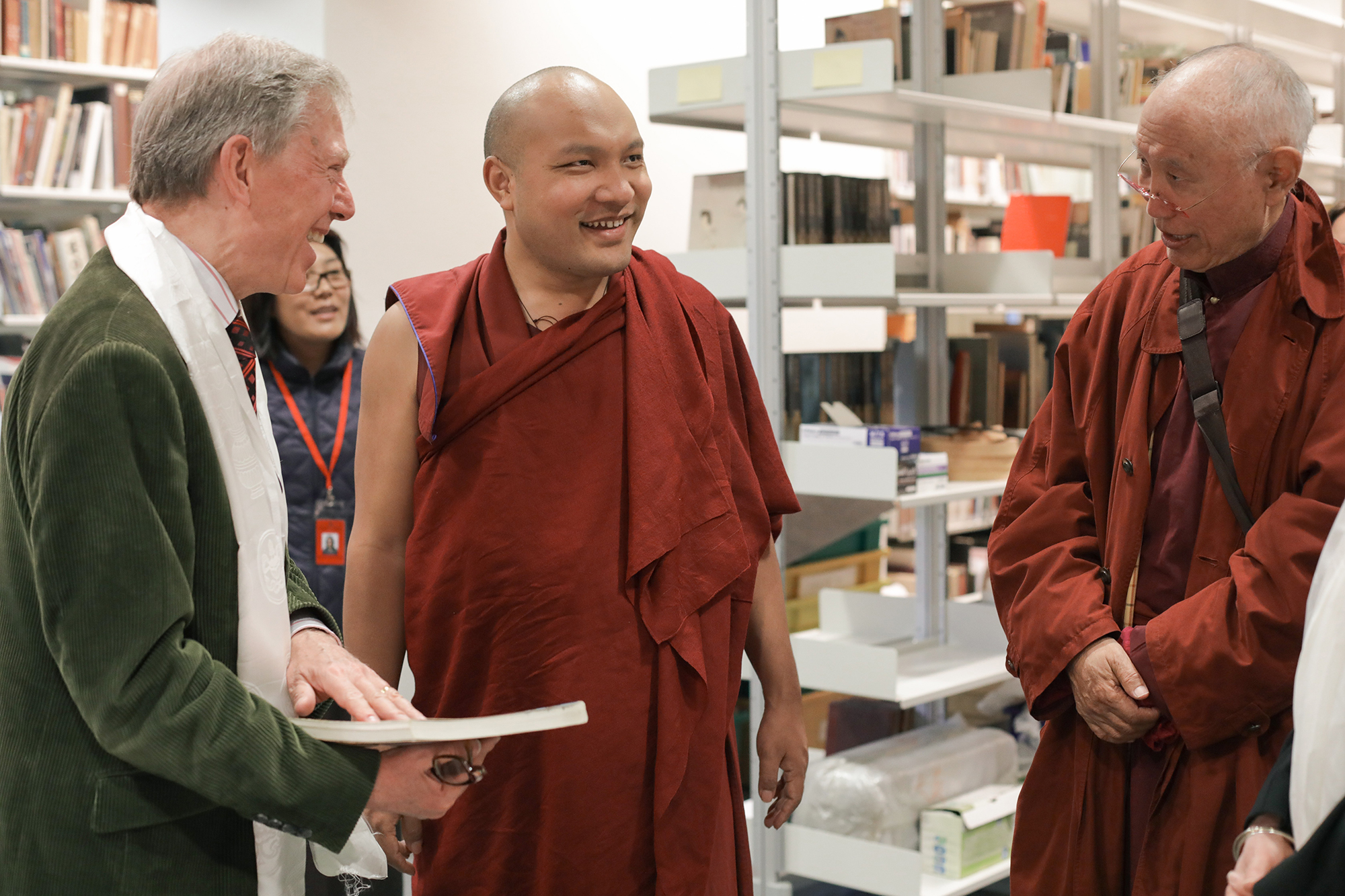 The Gyalwang Karmapa Meets World Culture in the British Museum