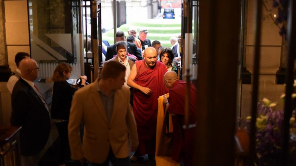 The Gyalwang Karmapa's historic first visit to the United Kingdom