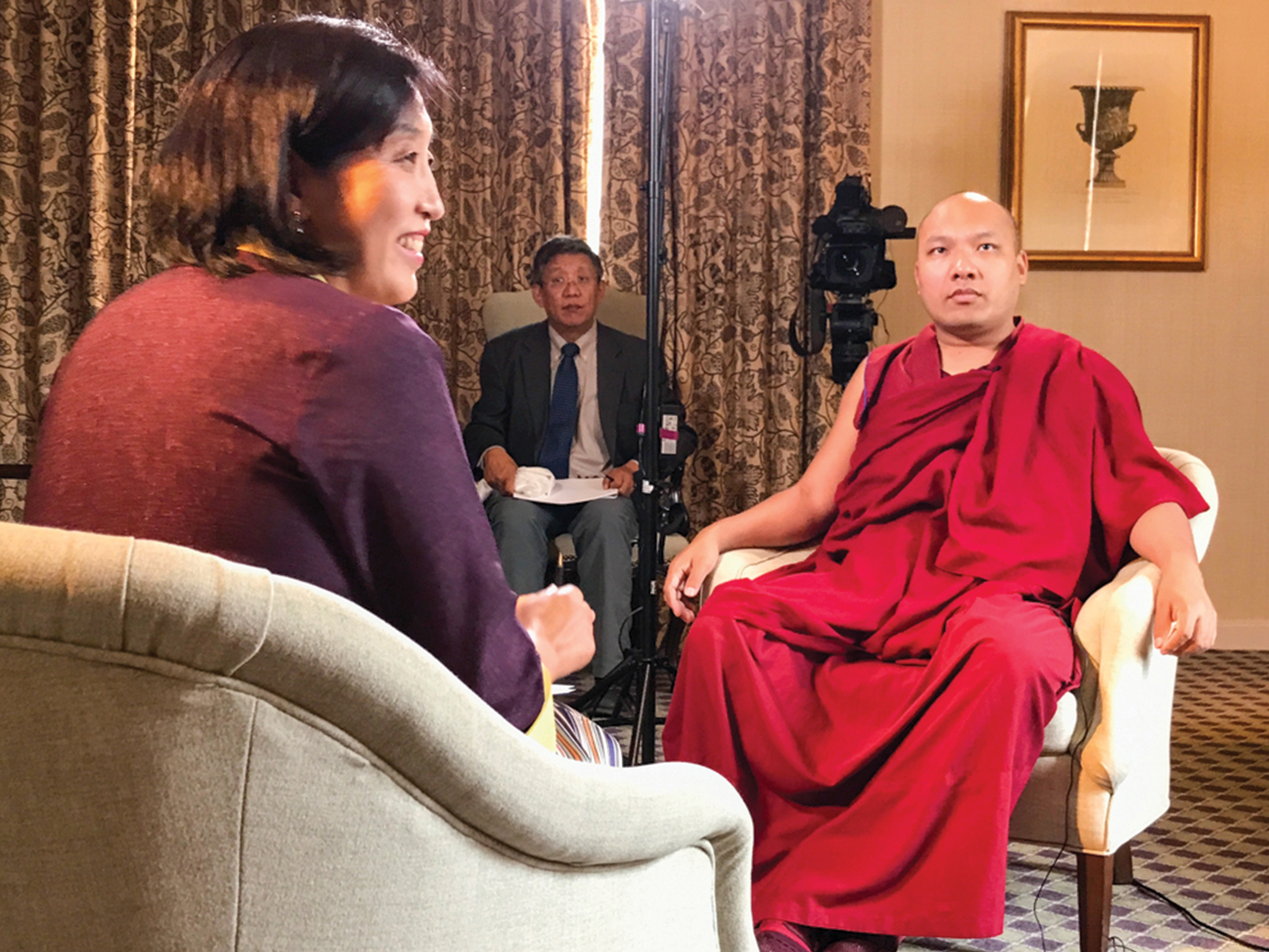 The Voice of America Interviews the Gyalwang Karmapa