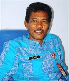 Kepala BPMPK Kota Bima, Drs. M. Farid M.Si