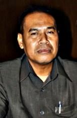 Juru biacara Koalisi Merah Putih Kota bima, Anwar Arman, SE. Foto: Bin