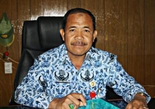 Kepala Dinsosnakertrans Kota Bima, Drs. H. Muhidin, MM. Foto: Bin