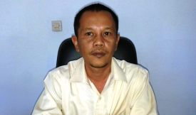 Kepala Bulog Devisi Regional II Bima, Raden Gunadarma. Foto: Teta