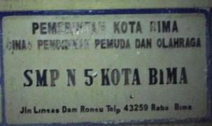 SMPN 5 Kota Bima
