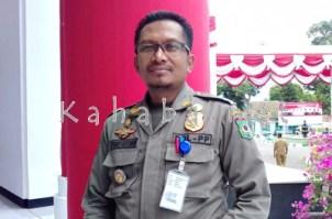 Kasat Pol PP Kota Bima, Syarif Rustaman. Foto: Eric