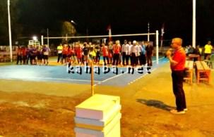 Turnamen Bola Voli di Kelurahan Penaraga. Foto: Ady
