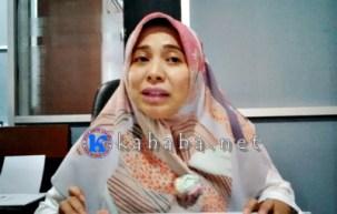 Kasi Tata Bangunan dan Pemukiman Bidang Cipta Karya Dinas PU dan Pertambangan Kota Bima, Ririn Kurniawati. Foto: Bin