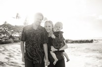 Family Beach Portrait Photography, Kauai Hawaii