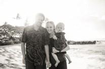 Family Beach Portrait Photography, Kauai Hawaii