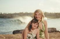Kauai Family on the beach