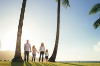 Hanalei Bay Family Portrait Photography -Kauai, Hawaii