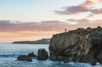 Kauai Engagement on Shipwrecks Beach Cliffs