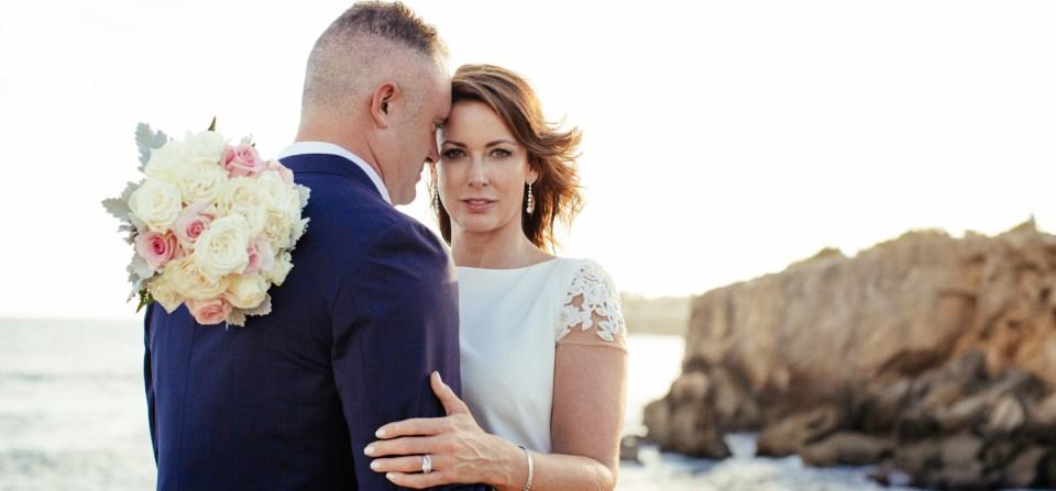 Kauai Wedding on the cliffs in poipu