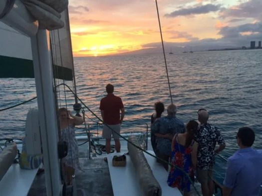 Sunset Cruise In Honolulu