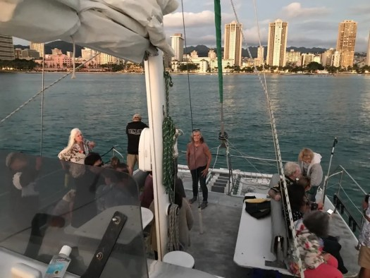 Sunset Sailing In Honolulu