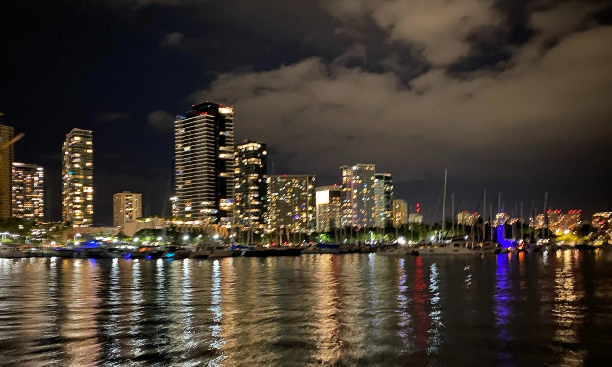 Honolulu City Lights Sunset Cruise