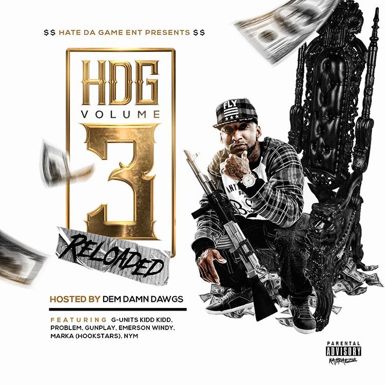 kahraezink_curt_digg_hdg_vol3_mixtape_cover_design