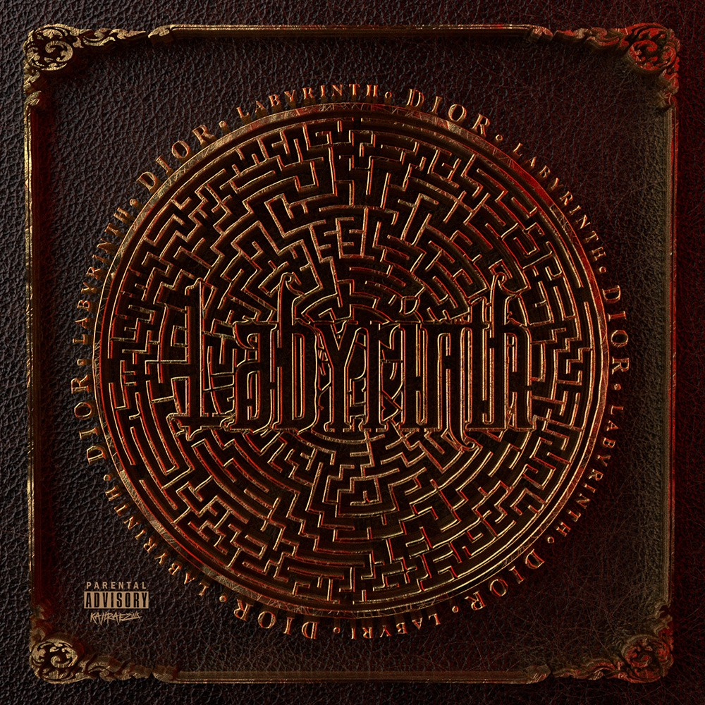 red_labyrinth_2_hip_hop_single_cover_designed_by_kahraezink
