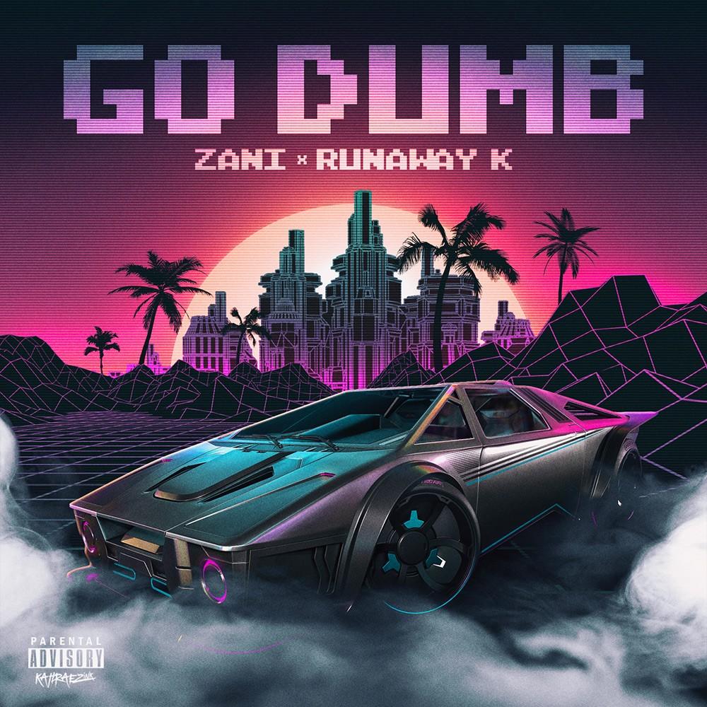 zani_go_dumb_hiphop_rap_single_cover_designed_by_kahraezink