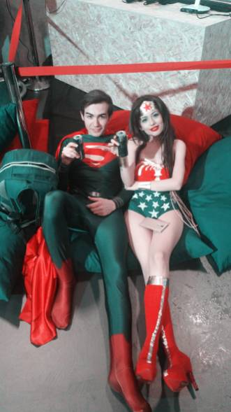 Superman ve Wonder Woman