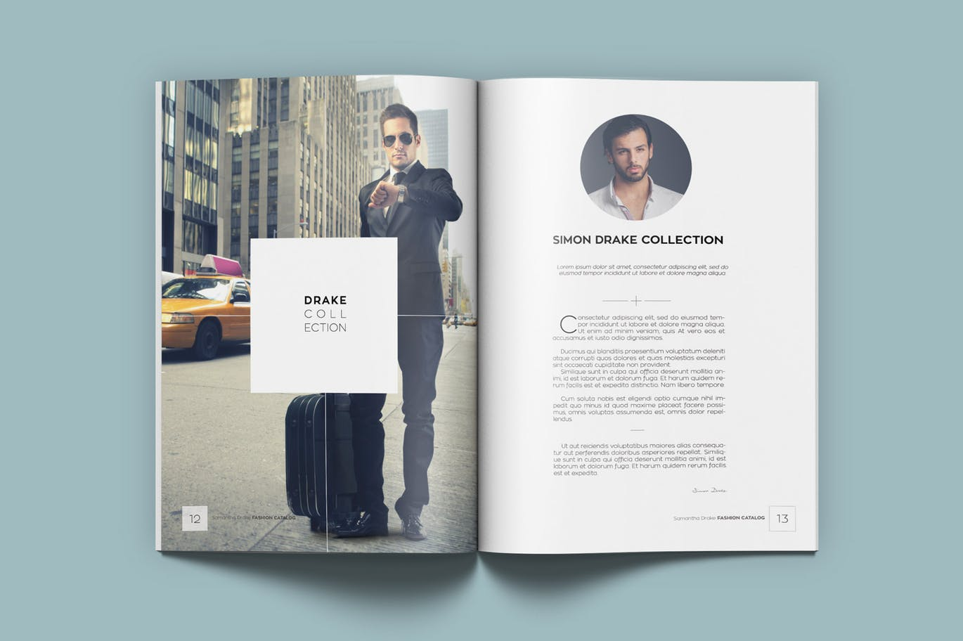 Fashion Catalog Lookbook Kahuna Design Source For Graphic Designers
