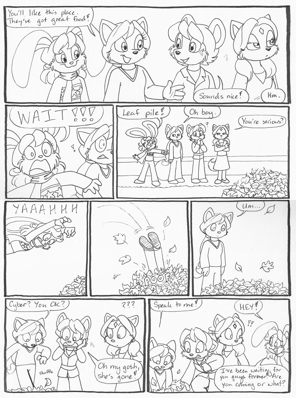 Bonus Comic 0001 – Leaf Pile Portals?
